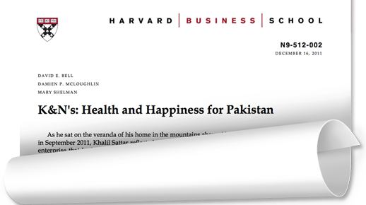 harvard case study amazon