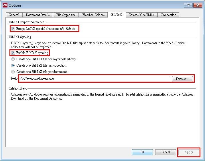 使用mendeley在latex中引用文獻 臺大圖書館參考服務部落格