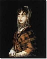 哥雅(Francisco José de Goya y Lucientes):Francisca Sabasa y Garcia