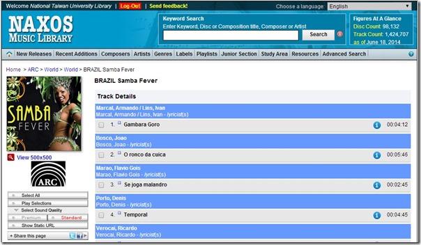 naxos-samba