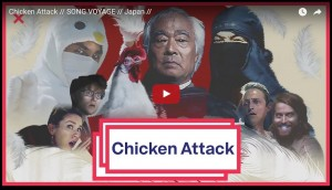 chicken attack video